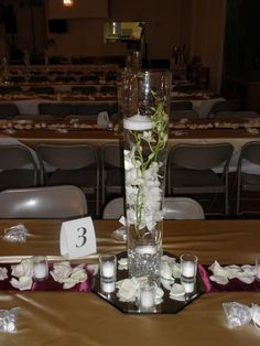 Wedding Centrepieces On Pinterest Martini Glass