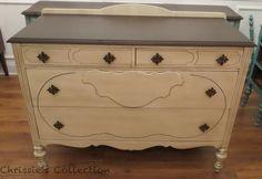 Brown Painted Furniture On Pinterest Milk Paint General