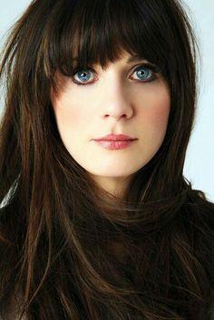 Zooey Deschanel - how can you not love her?!