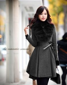 Winter is for romantic style via Indulgy! #laylagrayce #winter #outfit