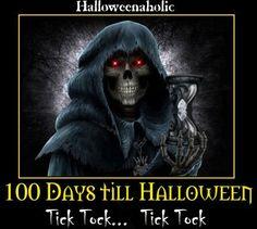 100 days till Halloween!