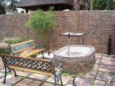 Outdoor fire pit, pizza oven, braai, BBQ on Pinterest ... on Modern Boma Ideas id=13996