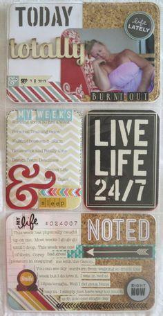 Project Life 6x12 insert