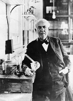 Thomas Alva Edison (1847–1931), was an American inventor and businessman. He developed many devices that greatly influenced life around the world, including the phonograph, the motion picture camera, and a long-lasting, practical electric light bulb. Was one of the first inventors to apply the principles of mass production and large-scale teamwork to the process of invention, and because of that, he is often credited with the creation of the first industrial research laboratory.