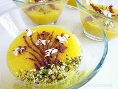 Shole zard - Iranian sweet saffron rice pudding.