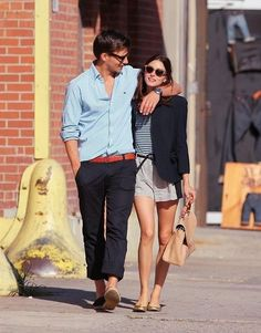 Cute couple fashion    #oliviapalermo #fashion #hollywood #style