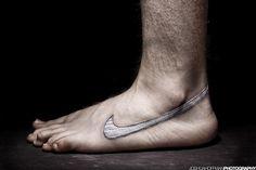 Barefoot running...