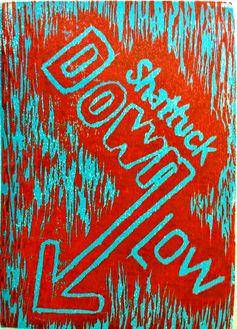 Down Low, 2015 Woodcut, 5