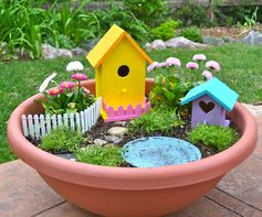 Real Life, One Day at a Time: a fairy garden