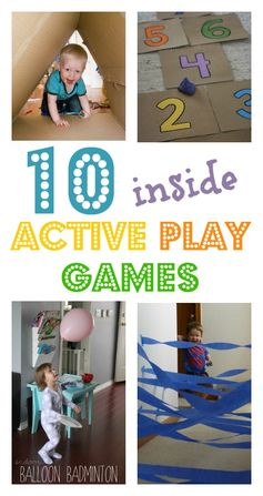 Indoor active play and leaf math games :: Play planner - NurtureStore