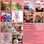 Free Crochet Pattern Friday Little Pig...Little Pig... Oombawka Design
