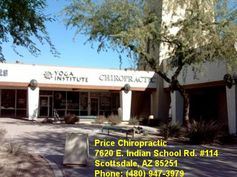 Price Chiropractic 7620 E. Indian School Rd. #114  Scottsdale, AZ 85251  Phone: (480) 947-3979
