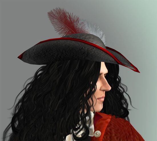 Tricorn hat from the 18th Century Johann outfit.