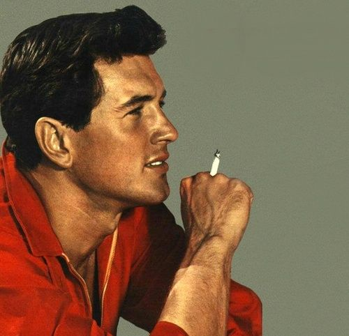 Rock Hudson  Great actor. Catch him in Magnificent Obsession (make sure you have tissues to catch the tears).