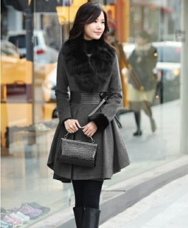 Long Coat Deep Grey