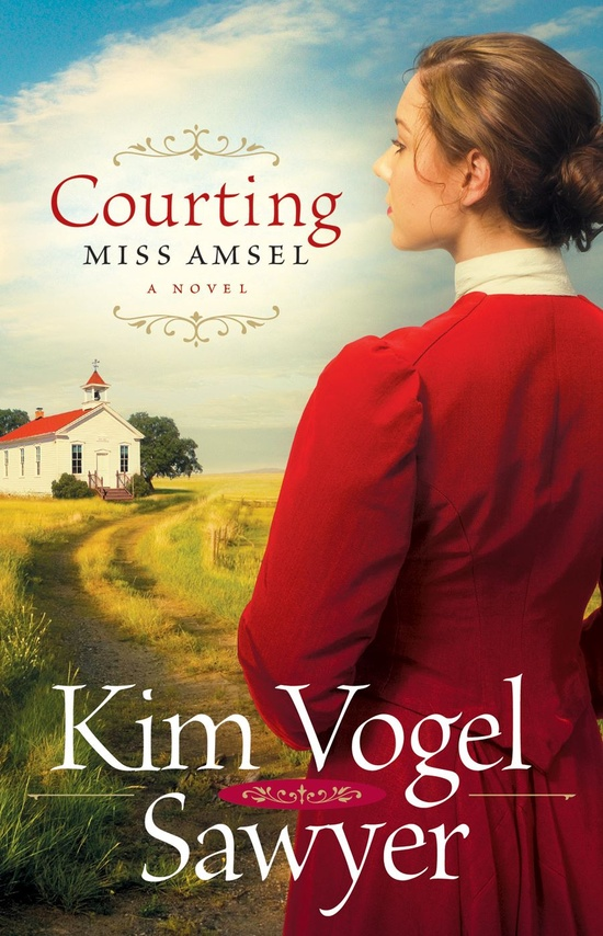 Courting Miss Amsel by: Kim Vogel Sawyer @Olivia Lynn. Thank you for letting me borrow it! I really enjoyed it!