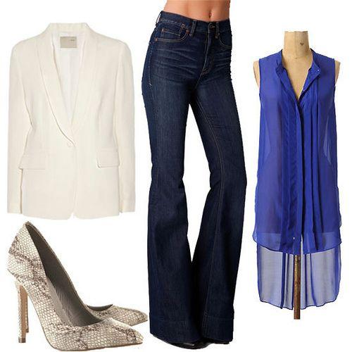 5 ways to wear a white blazer for spring