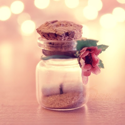 create loving, fond memories in a jar