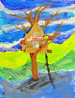 3rd grade treehouses