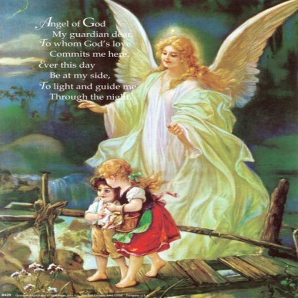 Guardian Angel Prayer | Angel of God My Guardian Dear ...