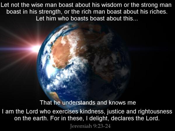 Jeremiah 9:23-24   Gotta Have Faith!!!!!   Pinterest