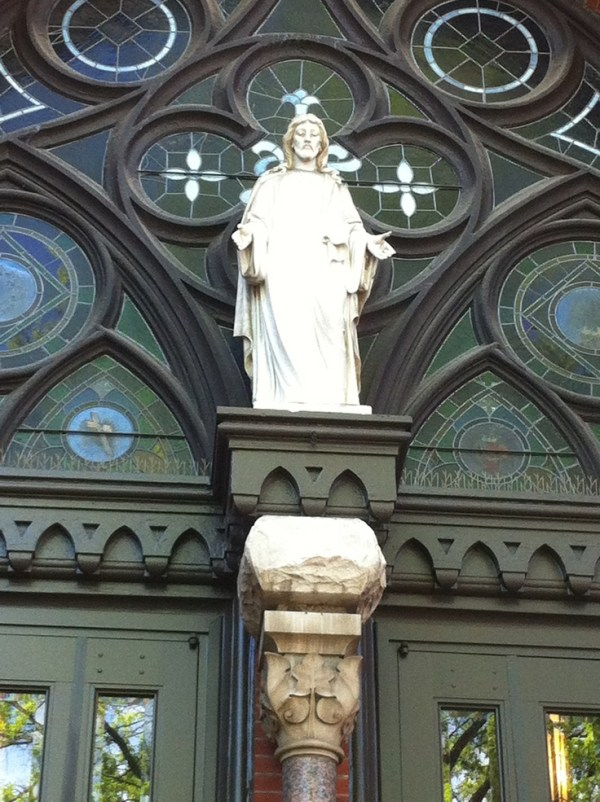 My Lord beckoning His sheep to enter St. Paul's Cathedral ...