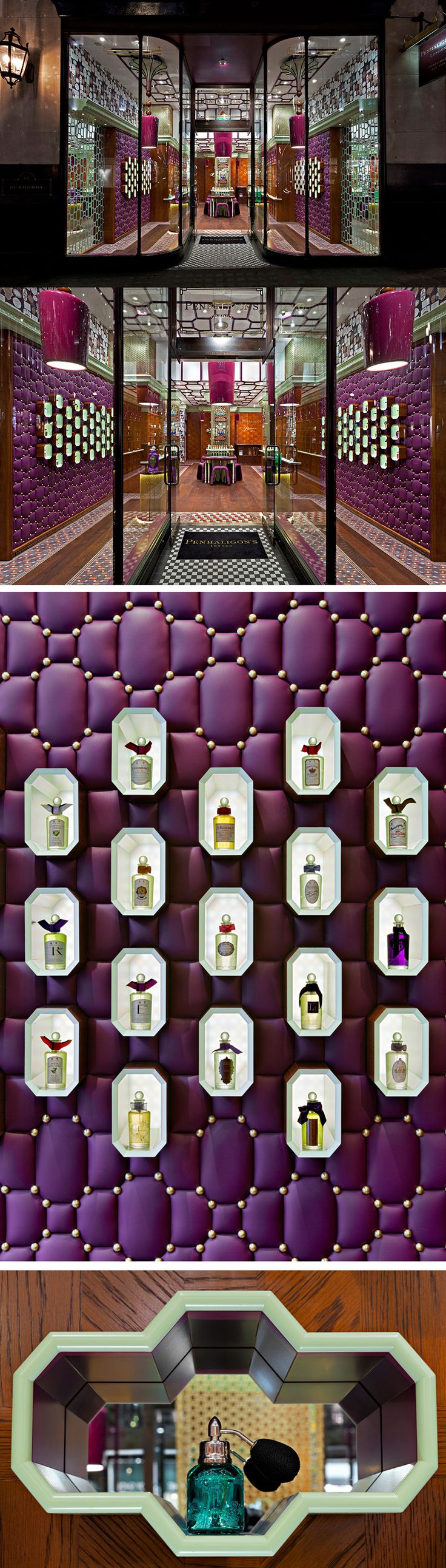 Penhaligon's London_Regent Street by Christopher Jenner