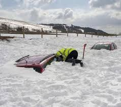beach december uk snow - Google Search
