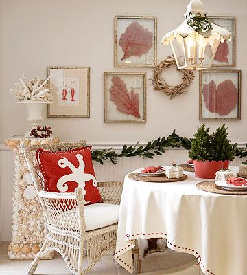 Seaside Christmas Dining