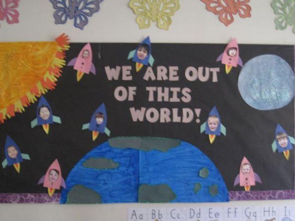 Solar System Bulletin Board | Solar system | Pinterest