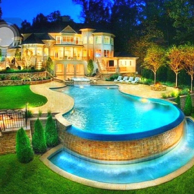 Dream backyard | Feast for the Eyes and Heart | Pinterest on Dream House Backyard id=48610