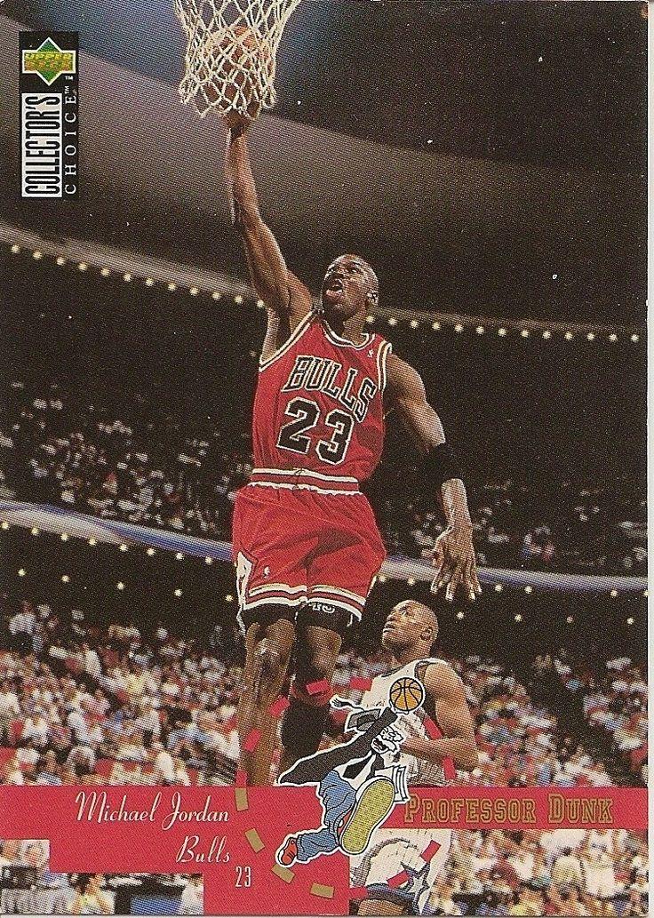 1995 michael jordan upper deck basketball cards