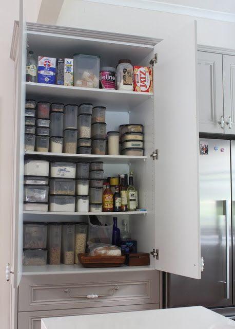 pantry storage tupperware ideas tupperware i love pinterest on kitchen organization tupperware id=83933