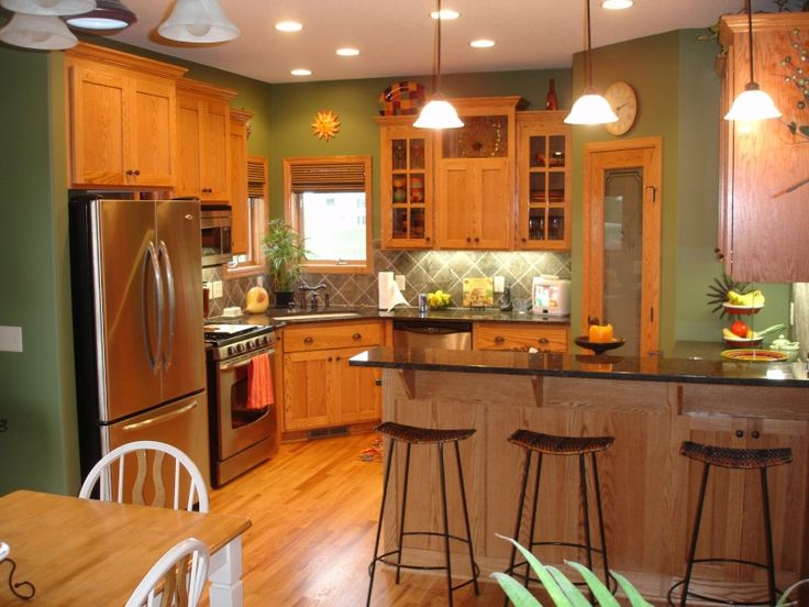 kitchen wall color examples for the home pinterest on good wall colors for kitchens id=99172