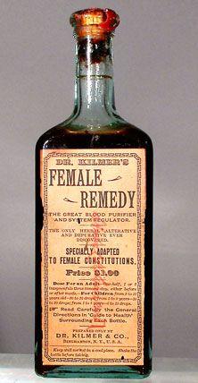 Dr. Kilmer's Female Remedy, 1870s