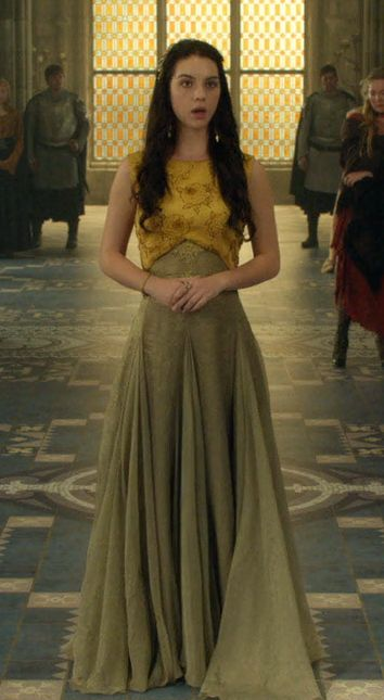 Really liked this dress...  #Reign