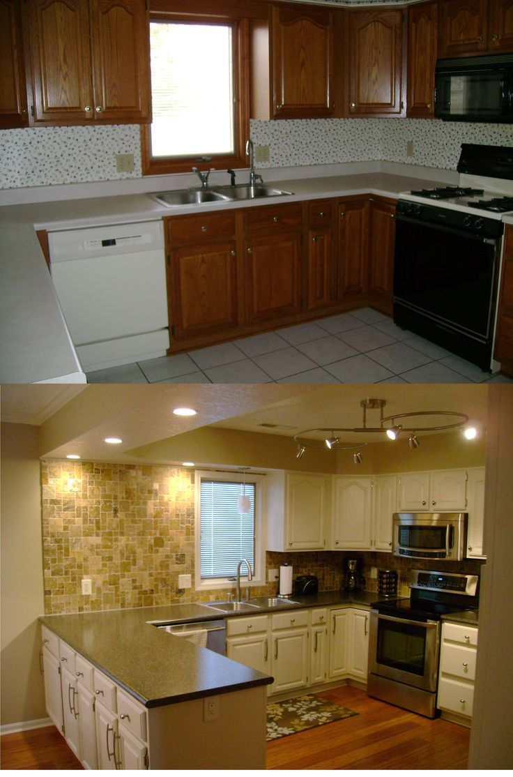 kitchen remodel on a budget kitchens pinterest on how to remodel your kitchen id=17712