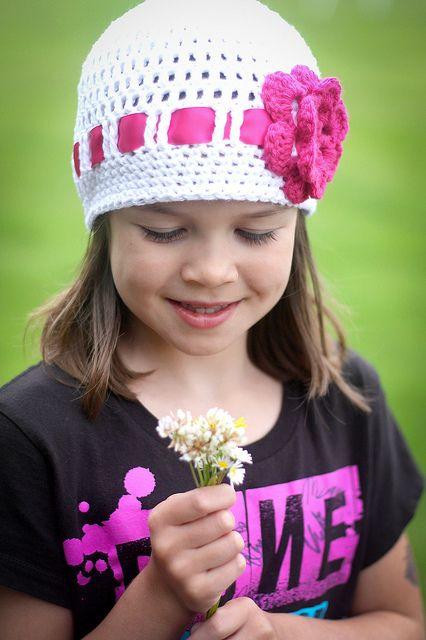 Flower ribbon hat - missneriss.com