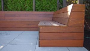 Outdoor Built In Seating Out Back Pinterest
