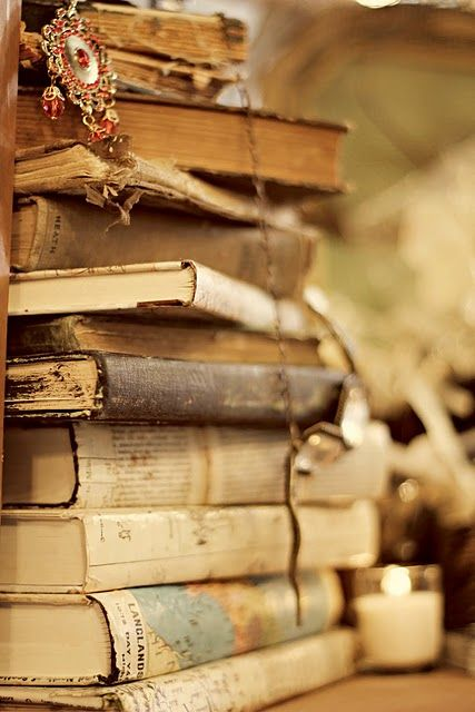 Old books - I feel like they contain a trace of every soul that they've touched, and that makes them magic.