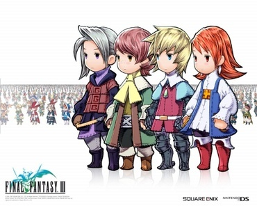 FFIII~ Currently playing this on my DS. Not very far into it, but loving it so far.