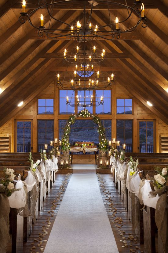 The Lodge and Spa at Brush Creek Ranch Wyoming, Wedding Venue