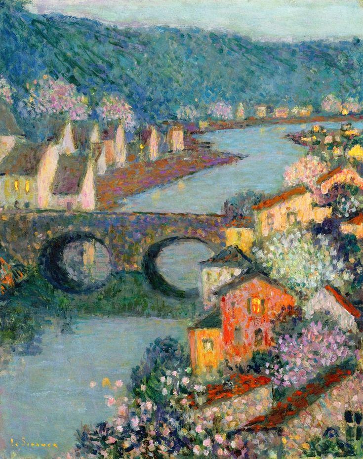 Houses on the River | Henri Le Sidaner