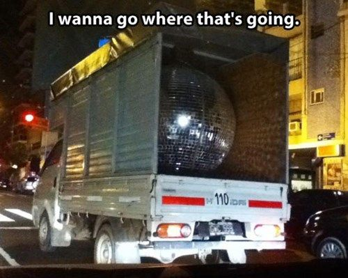 That'll be One Helluva Disco