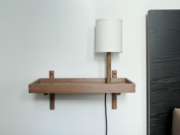 Perch Shelf with Lamp | by Dino Sanchez.