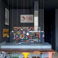 お宅拝見:ブラジルの家具屋の洒落たロフト