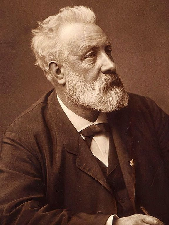 Jules Verne. An imagination surpassed only by his body of work.