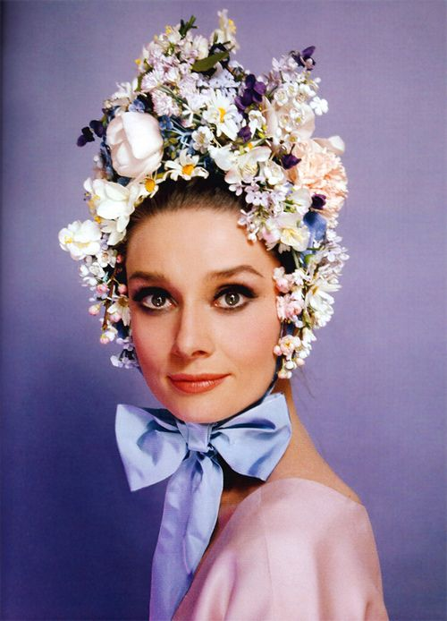 Audrey the 60s fashion portrait