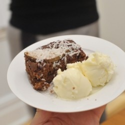 low glycemic index pear fudge chocolate cake