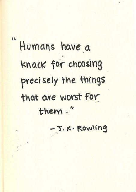 Love this from jk Rowling